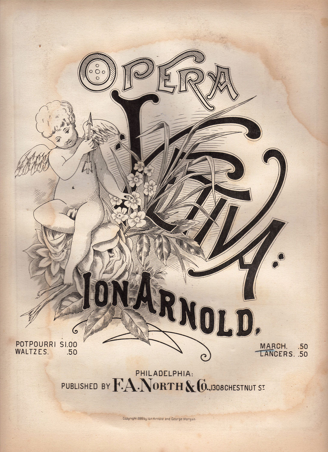 Sheet Music clipart opera The – Page Clip of