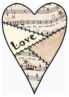 Sheet Music clipart opera Vintage #03 Sheet clipart Set