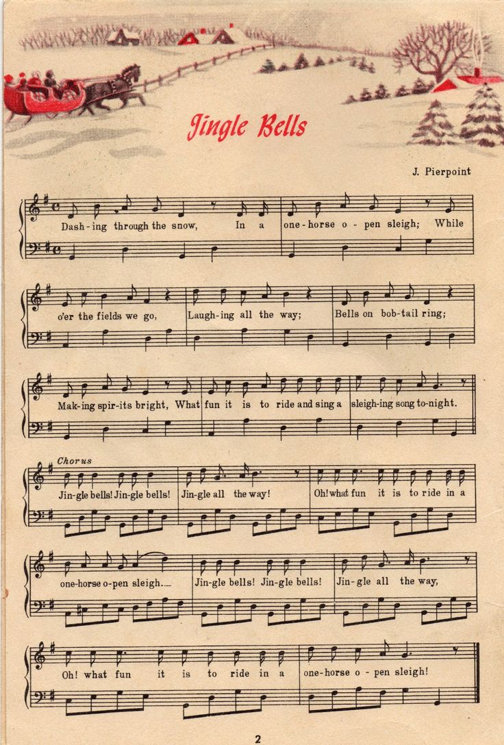Sheet Music clipart printable Music 25+ sheet Christmas music