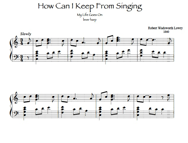 Sheet Music clipart solo singing #10