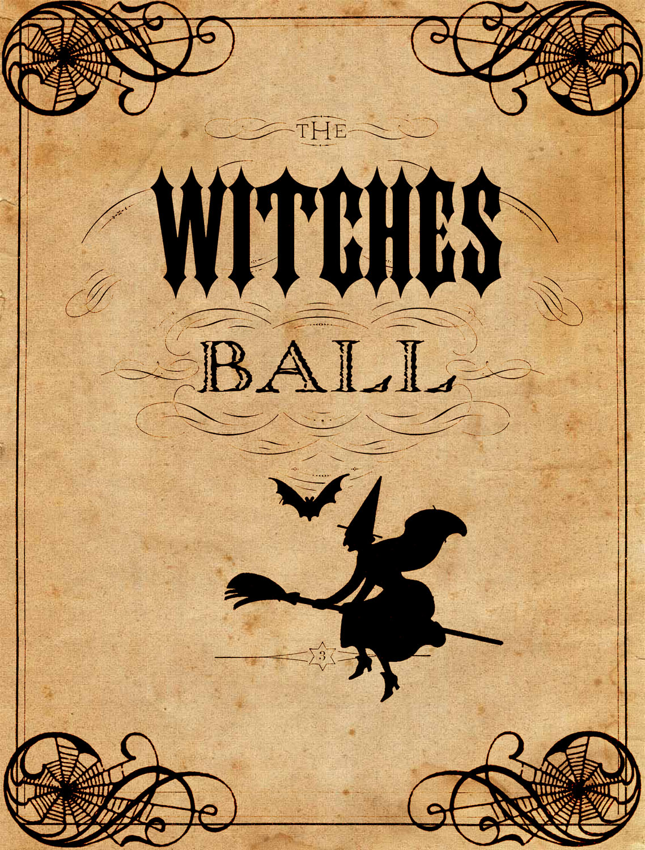 Sheet Music clipart vintage halloween Ball – Ball The Vintage