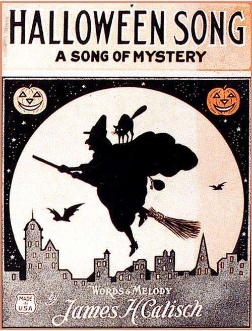 Sheet Music clipart vintage halloween Vintage and Sheet best