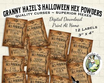 Sheet Music clipart vintage halloween Digital Halloween Vintage Clip Vintage