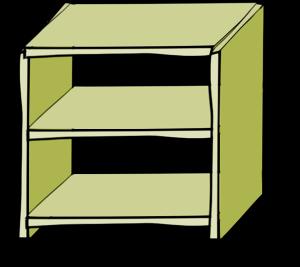 Shelf clipart #9