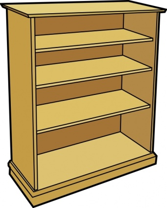 Shelf clipart #5