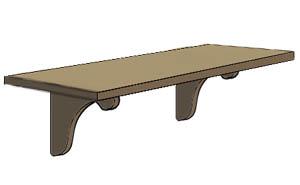 Shelf clipart #3