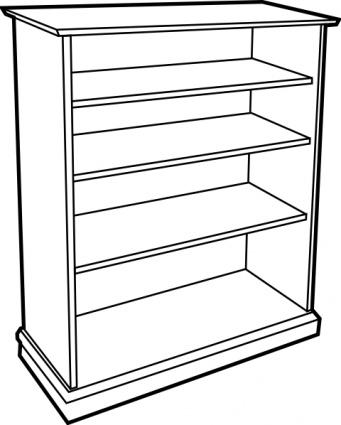 Shelf clipart 1) Bookcase com Furniture 26