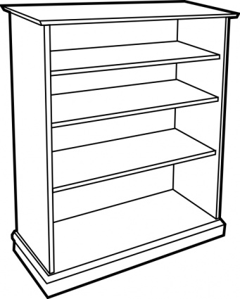 Shelf clipart #7