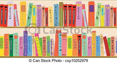 Book clipart banner Funny of Book cartoon banner