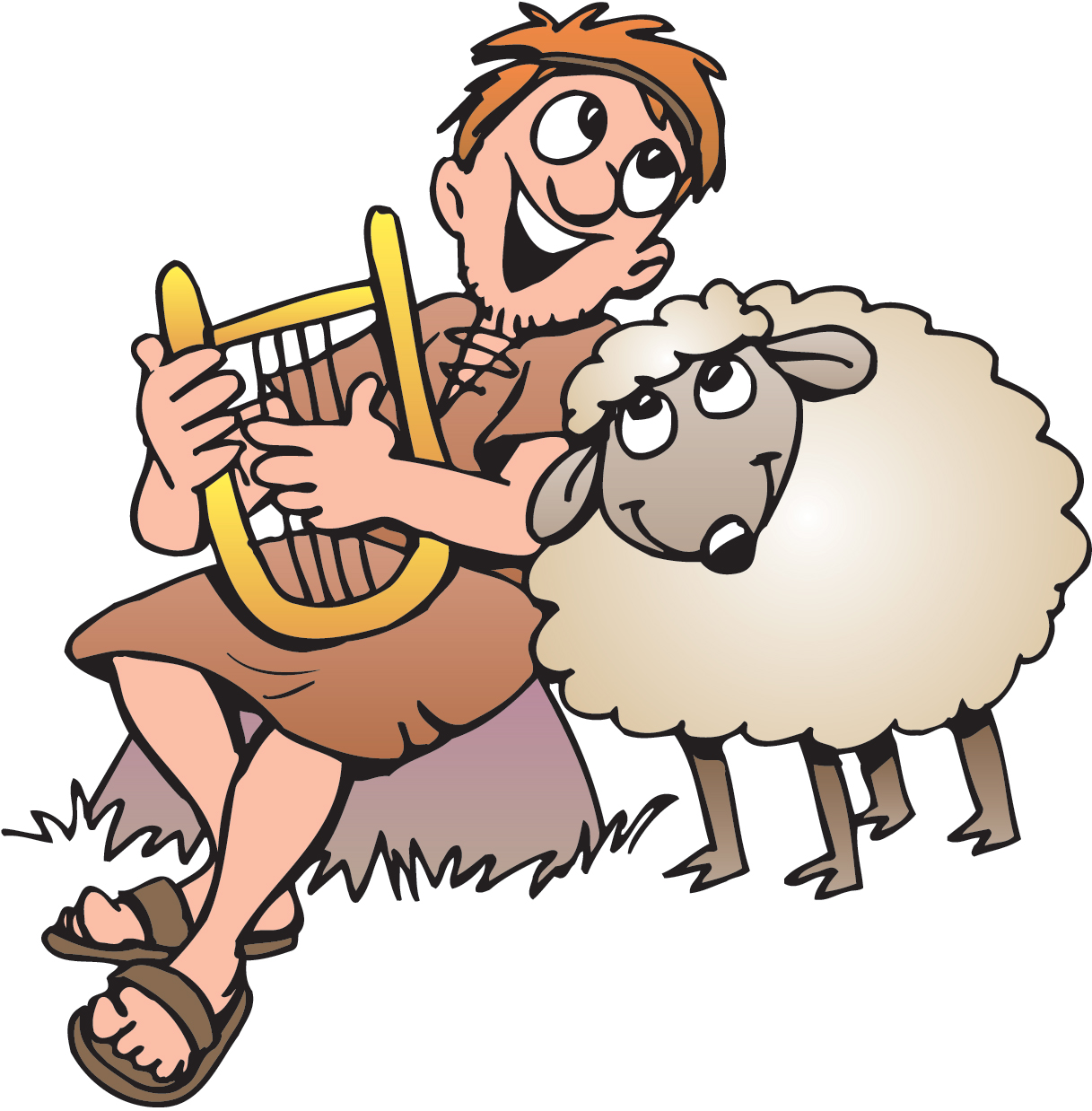 Shepherd Boy clipart #8