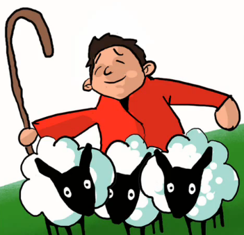 Shepherd Boy clipart #11