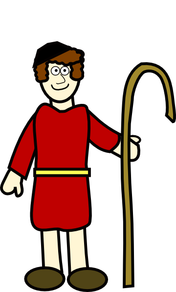 Shepherd Boy clipart #4