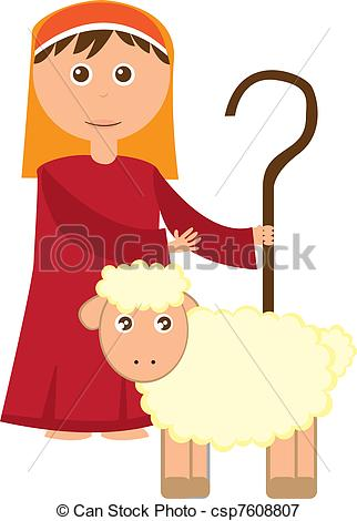 Shepherd Boy clipart #6