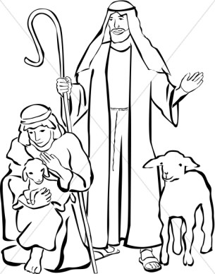 Shepherd Boy clipart jesus Clipart clipart white Christmas and