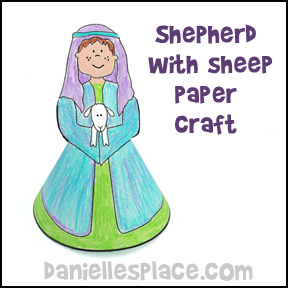 Shepherd Boy clipart sheep herder For a Boy School Sheep