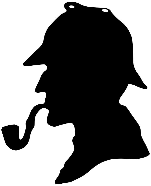 Sherlock Holmes clipart mysterious man Clip Cliparts Sherlock Holmes Art