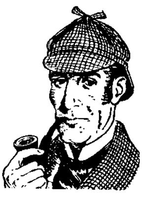 Sherlock Holmes clipart cilip Watson holmes about art amigos