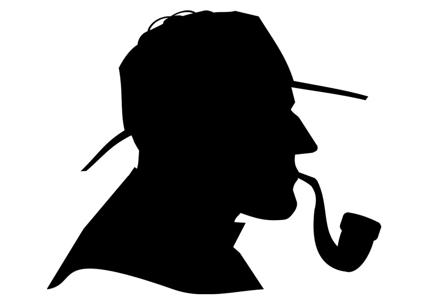 Sherlock Holmes clipart any question  Holmes Sherlock trivia com