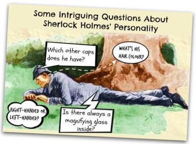 Sherlock Holmes clipart any question And  interesting 21832879 an