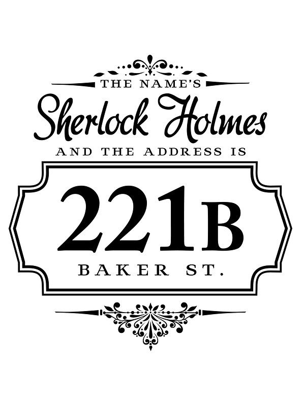 Sherlock Holmes clipart brilliant idea 25+ The Holmes Sherlock name's