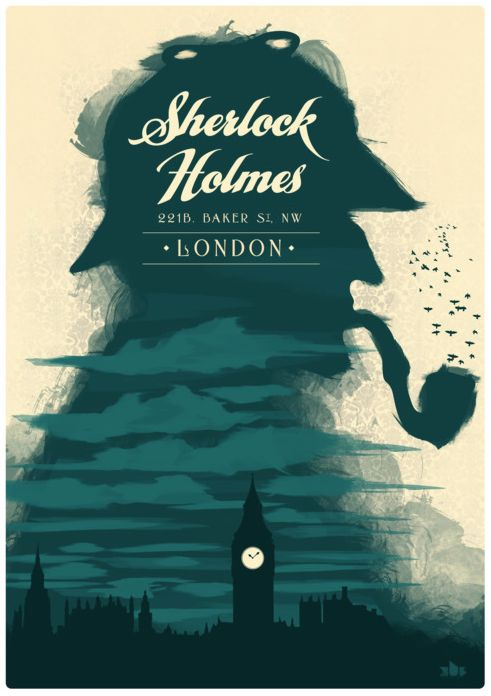Sherlock Holmes clipart brilliant idea Pinterest Posters examples holmes ideas