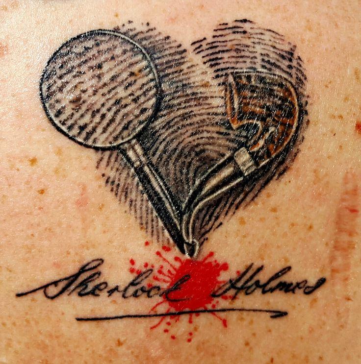 Sherlock Holmes clipart brilliant idea Tattoo at Monica's Tattoo Holmes