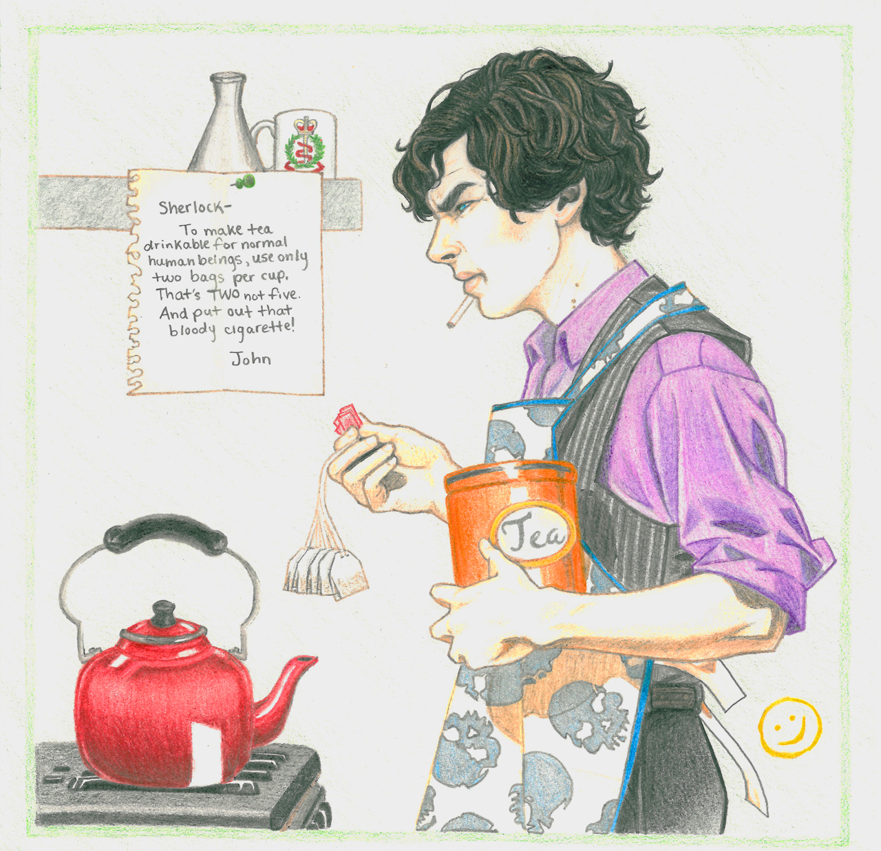 Sherlock Holmes clipart careful Feels Johnlock The Michaela Mason