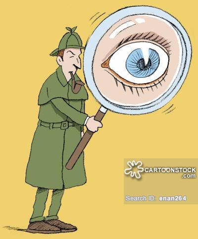 Sherlock Holmes clipart clue Through Holmes Sherlock pictures magnifying