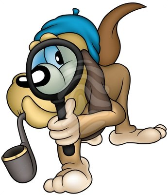 Sherlock Holmes clipart concentration Free Images Panda detective Clipart