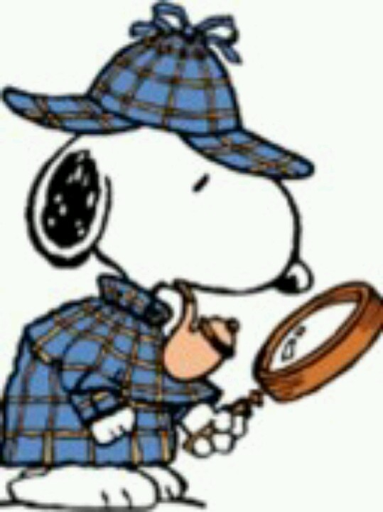Sherlock Holmes clipart discover Homes Snoopy Sherlock as Holmes