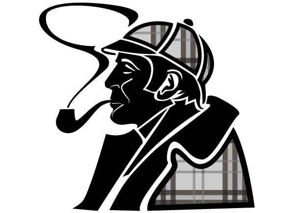 Sherlock Holmes clipart discover 4 ClipartBarn Sherlock of society