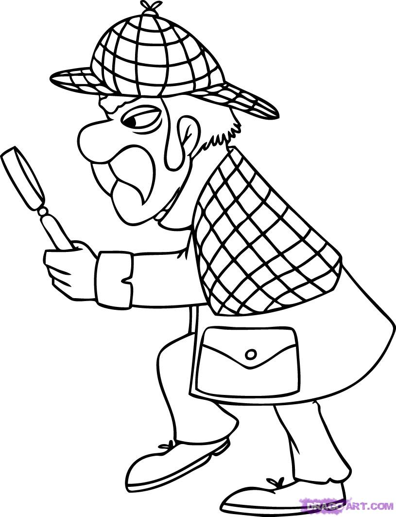 Sherlock Holmes clipart drawing Pop How Step holmes Culture