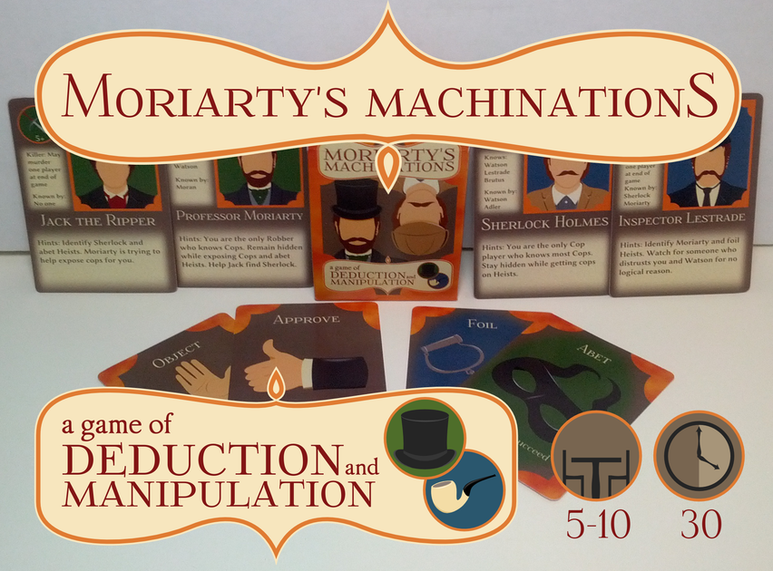 Sherlock Holmes clipart clue Board Moriarty's  BoardGameGeek Game