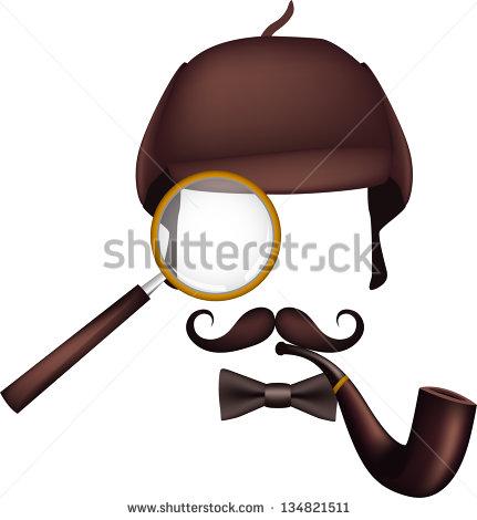 Sherlock Holmes clipart i think / inventory automatically symbolic Holmes