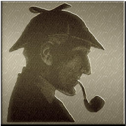 Sherlock Holmes clipart i think SteelEtchd IconDoIt Sherlock Skulls