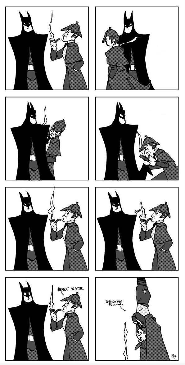 Sherlock Holmes clipart insight Batman Sick 179 about Holmes