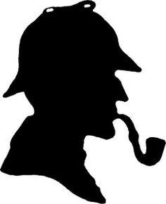 Sherlock Holmes clipart insight Retweets Twitter 1 Nevin (@stephanienevin)