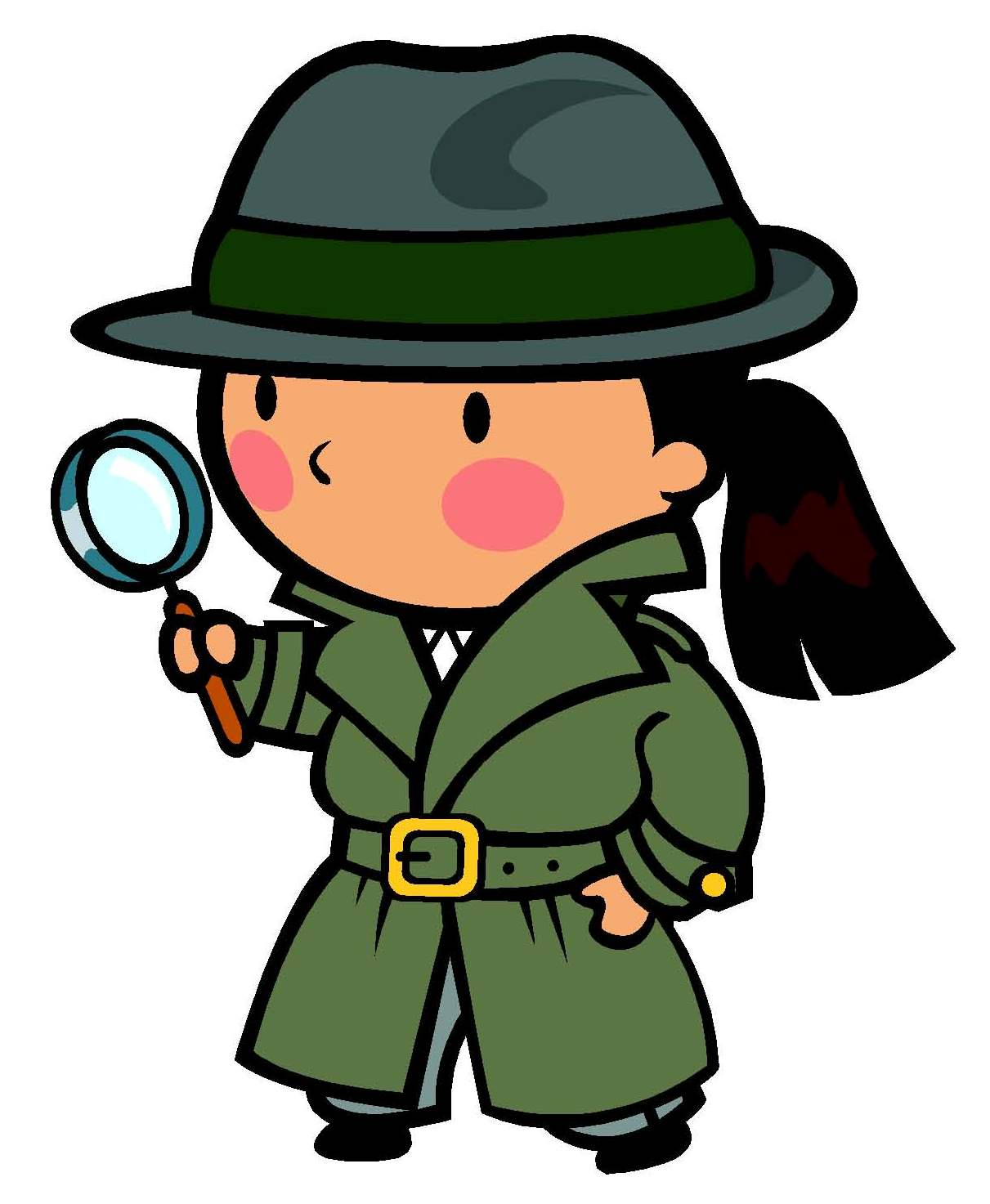 Sherlock Holmes clipart kid detective Detective Images Free For Kids