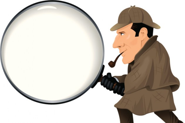 Sherlock Holmes clipart mysterious man Public the Rapids Real Holmes