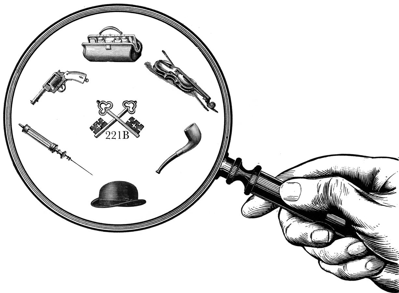 Sherlock Holmes clipart mystery Lucky Return Parking Fun Holmes