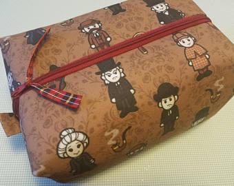 Sherlock Holmes clipart mystery bag Watson Holmes Etsy Kit Bag