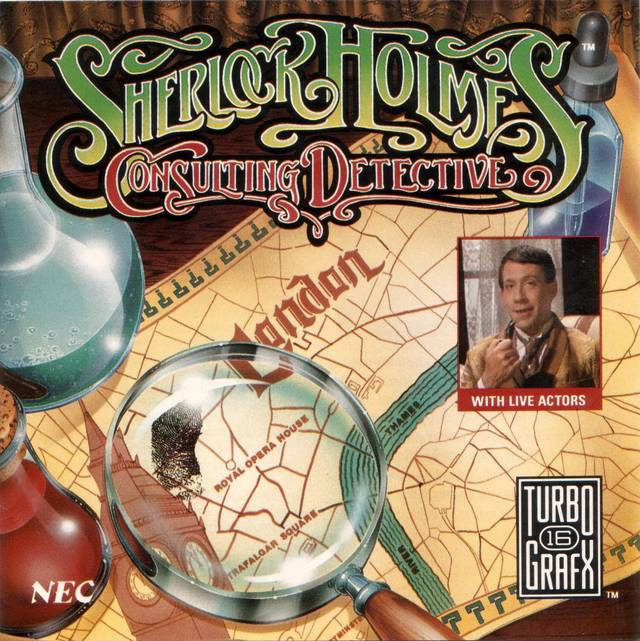 Sherlock Holmes clipart mystery box  Nerd Consulting Detective CD