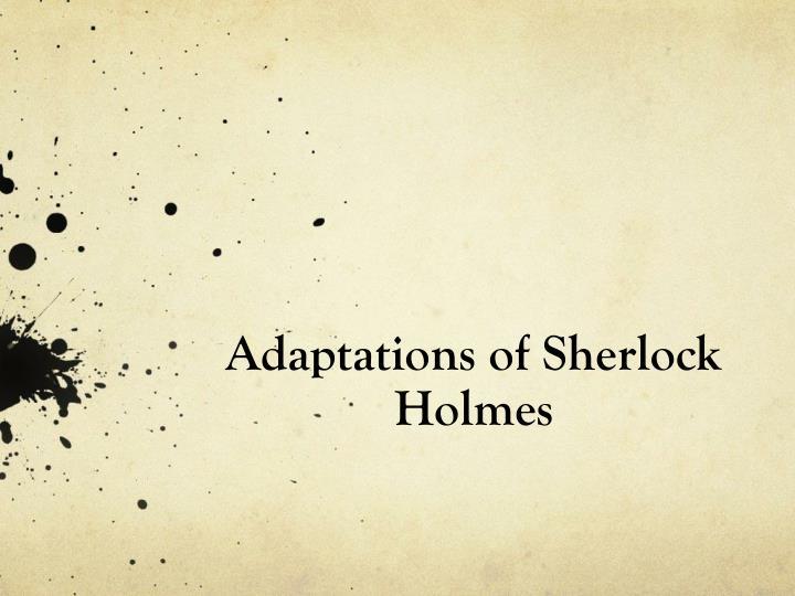 Sherlock Holmes clipart presentation Of of PPT Presentation
