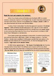 Sherlock Holmes clipart presentation HOLMES worksheets worksheets: page SHERLOCK