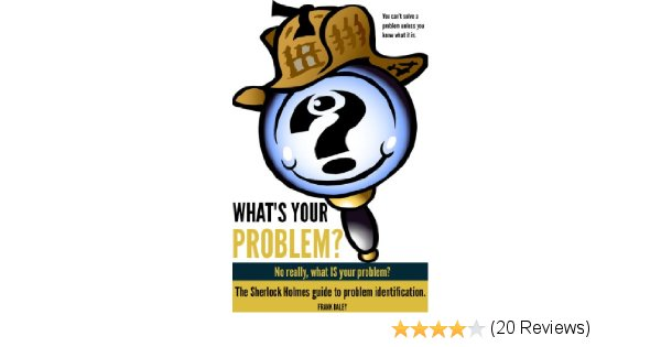 Sherlock Holmes clipart problem solving What IS Problem?:  Problem