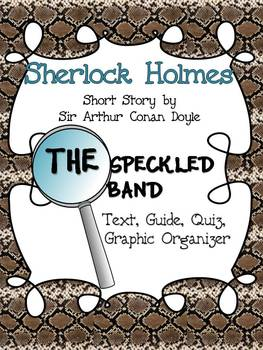 Sherlock Holmes clipart quiz time Band: Speckled Holmes Guide Speckled