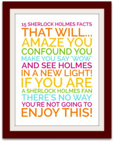 Sherlock Holmes clipart quiz time Facts/Trivia Holmes Amazing Facts Holmes