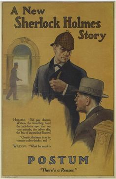 Sherlock Holmes clipart reason And Stock and 1915 Story