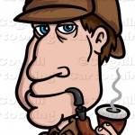 Sherlock Holmes clipart sleuth Cartooning Coghill & Sleuth Illustration