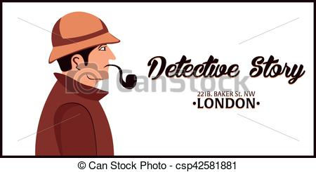 Sherlock Holmes clipart work Detective 221B of with Holmes